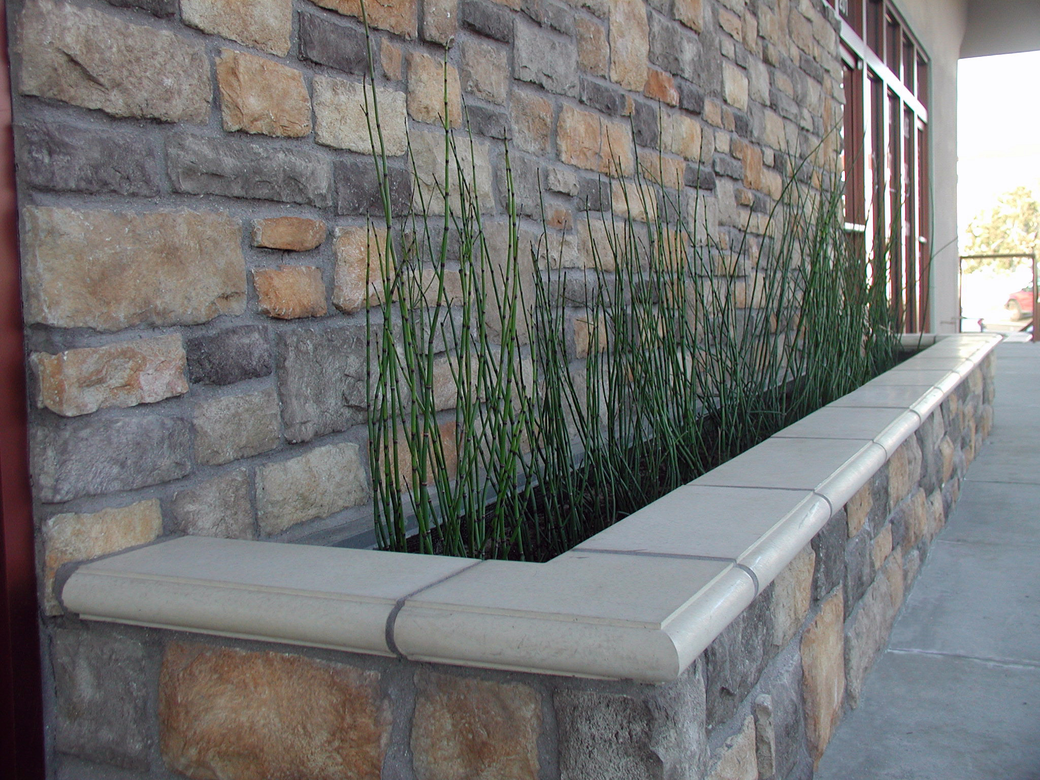 Cement Wall Caps : And balustrade turn an ordinary wall into a work we have